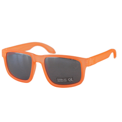NYC-ONE / Transparent Orange Fluo-Silver Mirror Lens